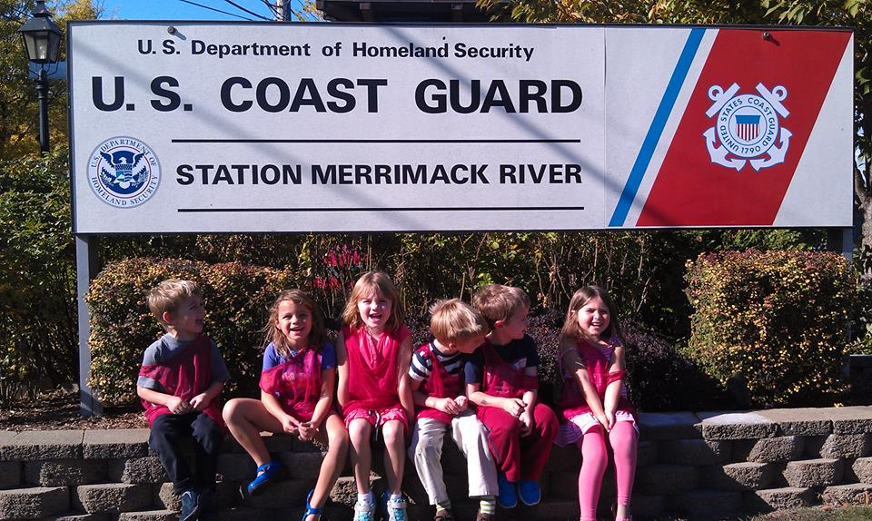 Newburyport Montessori Coast guard