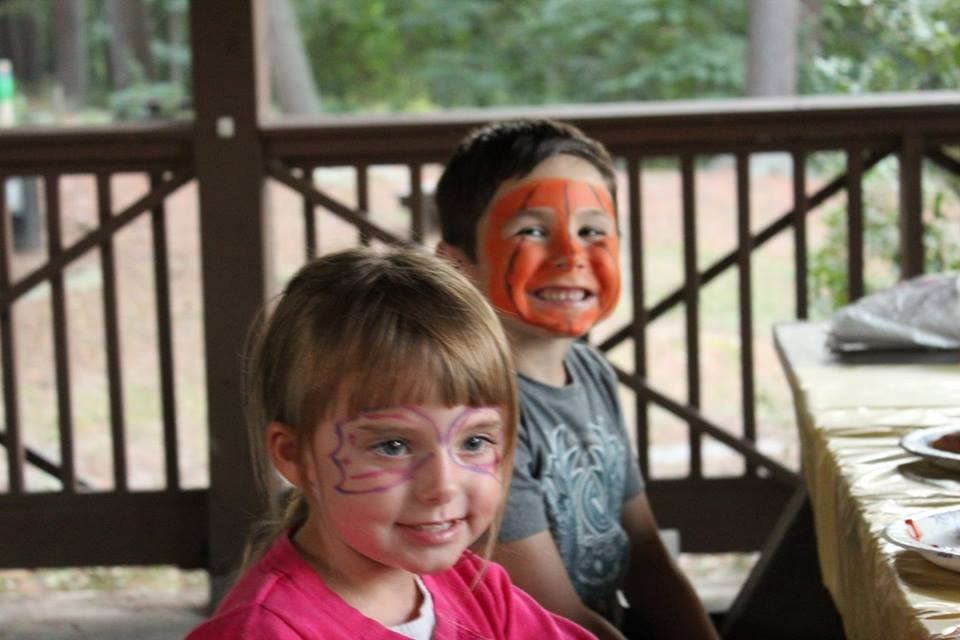 Newburyport Montessori School Face Painting