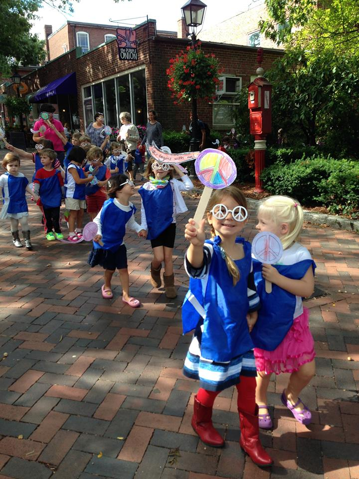 Newburyport Montessori School Peace Day